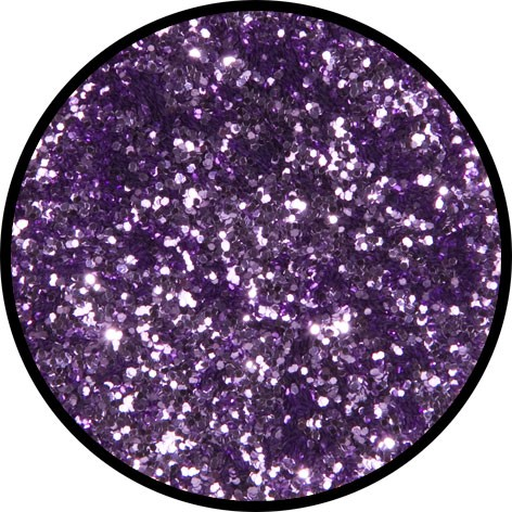 2 g Eulenspiegel Polyester Streu Glitzer Lavendel