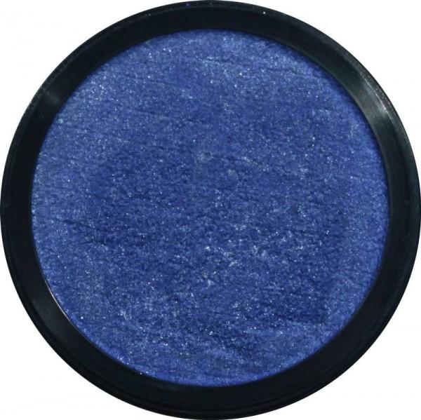 3,5 ml Profi Aqua Make Up Perlglanz Meeresblau Eulenspiegel