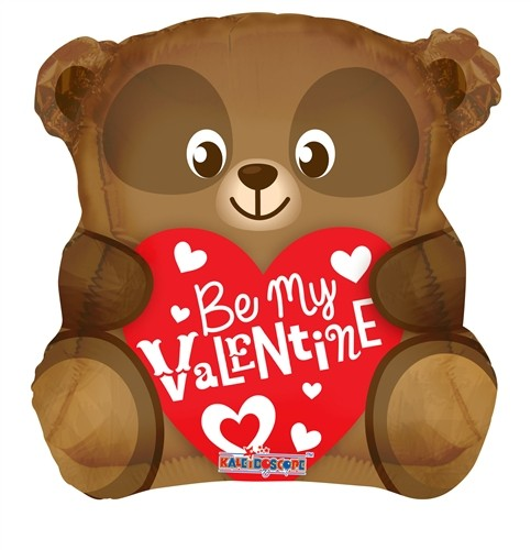 I Love you- Be my valentine- Folienballon - 45cm