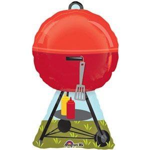 Barbecue Kugelgrill BBQ Folienballon