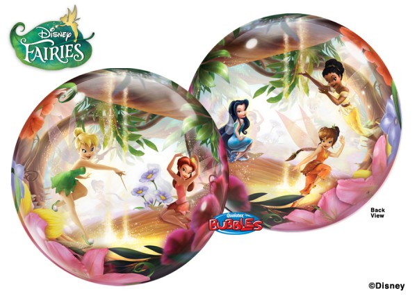 Qualatex Bubble Luftballons Tinkerbell