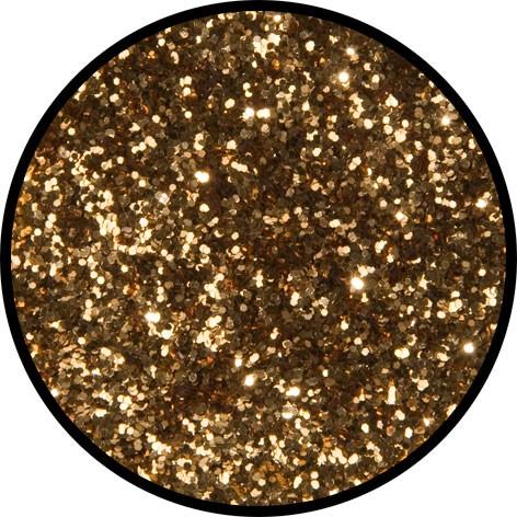 6 g Eulenspiegel Polyester Streu Glitzer Tigergold